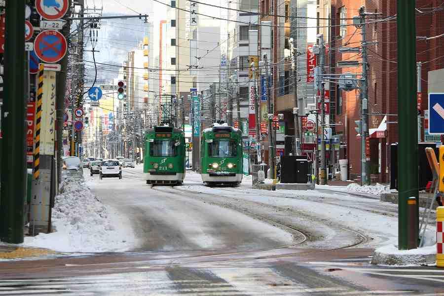 札幌市電を流し撮り-意外と楽しい街中での流し撮り