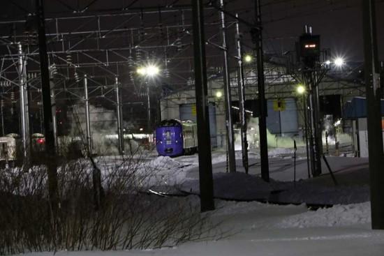 夜 札幌運転所