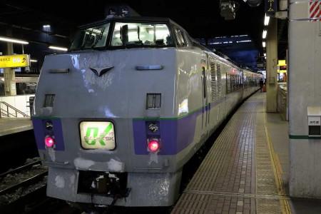 札幌駅-特急オホーツク1号