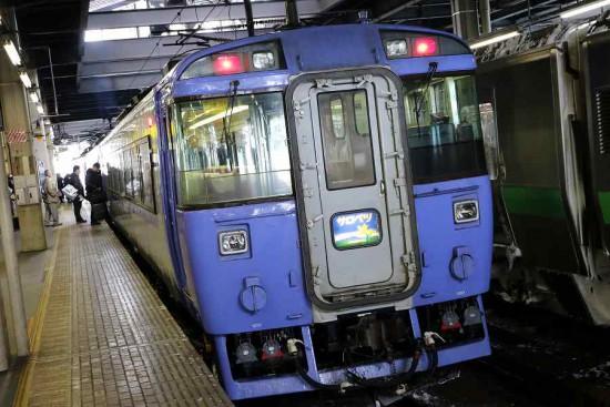 サロベツ 札幌駅-キハ183系