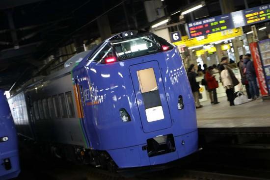 流し撮り ST1207-札幌駅 営業運転開始