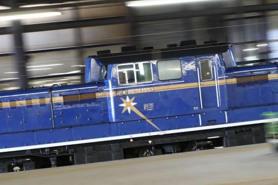 試1191 流し撮り DD511093-札幌駅 単機
