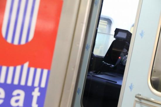 721系 F1009-uシート 運転台
