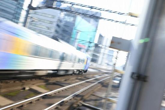 流し撮り 追い-札幌駅 スーパー宗谷