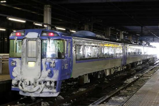 オホーツク2号 12D-札幌駅 2番線