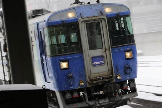 臨時北斗40号 キハ183系 8番線