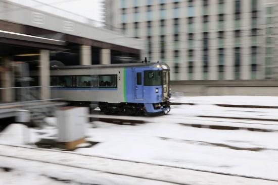 オホーツク 札幌駅-出発