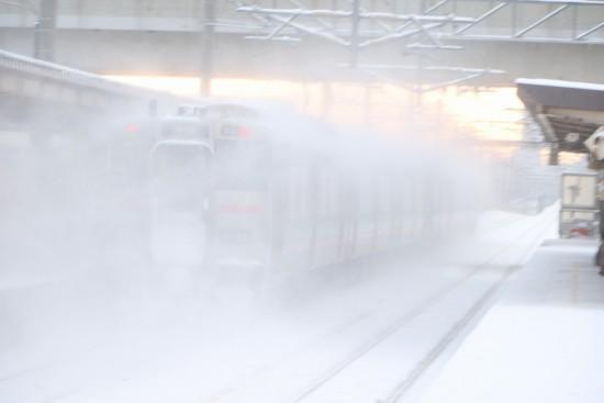 稲積公園駅 回送-731系 G-116