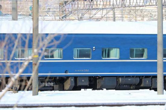 札幌運転所 スハネフ14 552