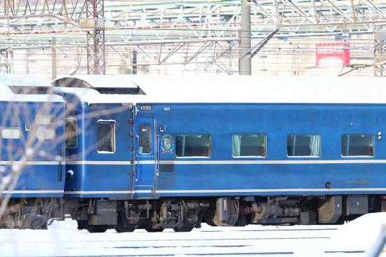 札幌運転所-スハネフ14 551