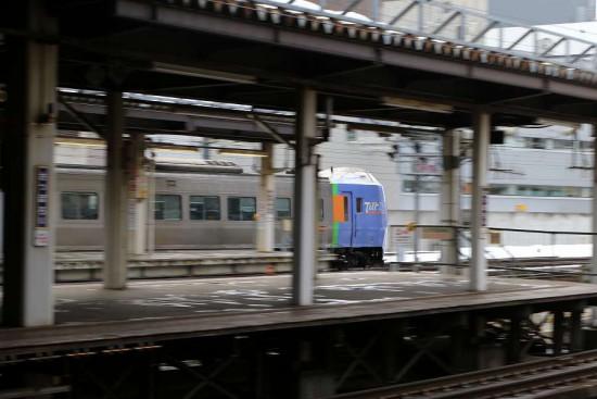 回送 34D スーパーとかち-札幌運転所へ