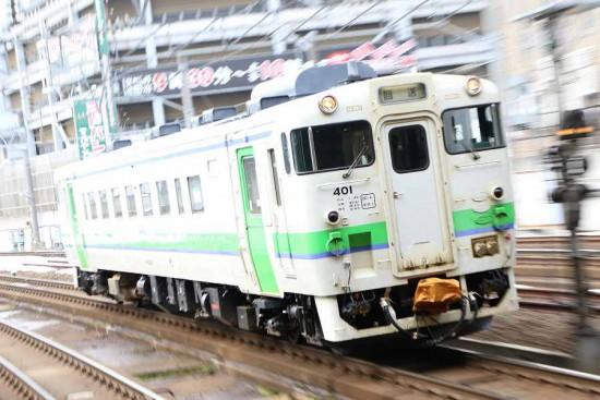 ズーム流し 流し撮り-札幌駅