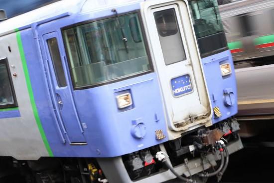 ズーム流し 札幌駅-北斗 キハ183