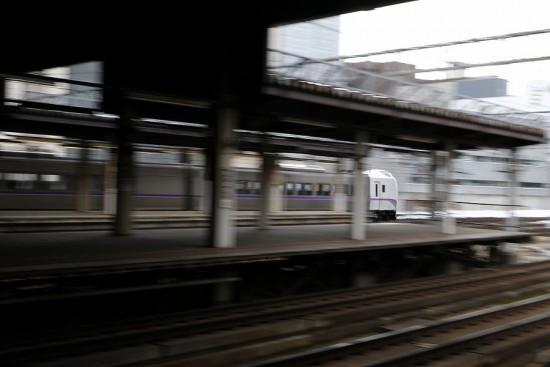 流し撮り 札幌駅-スーパーとかち 新色