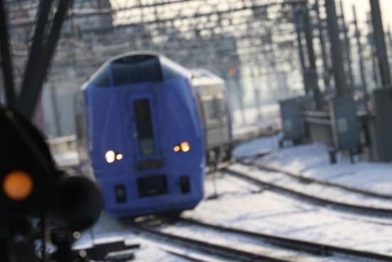 ボケ スーパー宗谷 キハ261系 100番代-札幌駅