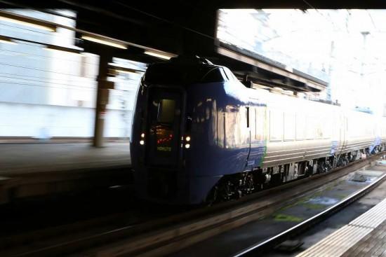 臨時北斗84号 キハ283系-札幌駅 5両編成