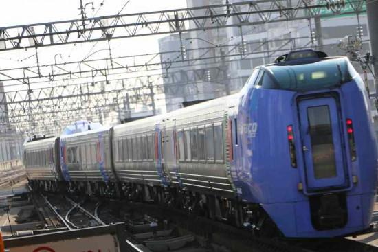臨時北斗84号 4両編成 キハ283系-札幌駅