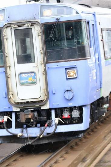 流し撮り サロベツ 札幌駅-キハ183