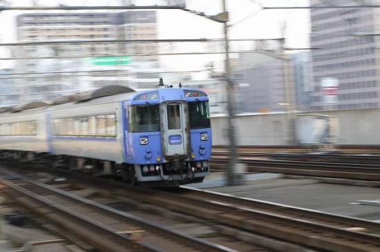 北斗 12号 札幌駅 流し撮り