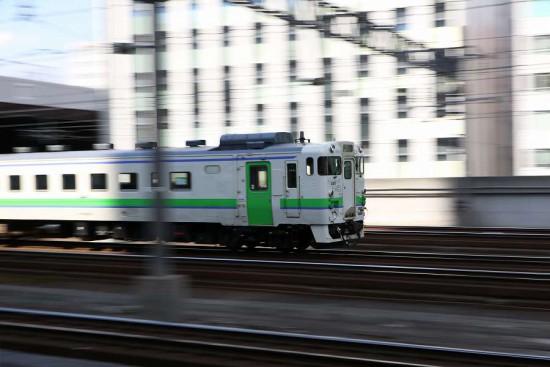 キハ40 401-札幌駅 回送 苗穂運転所