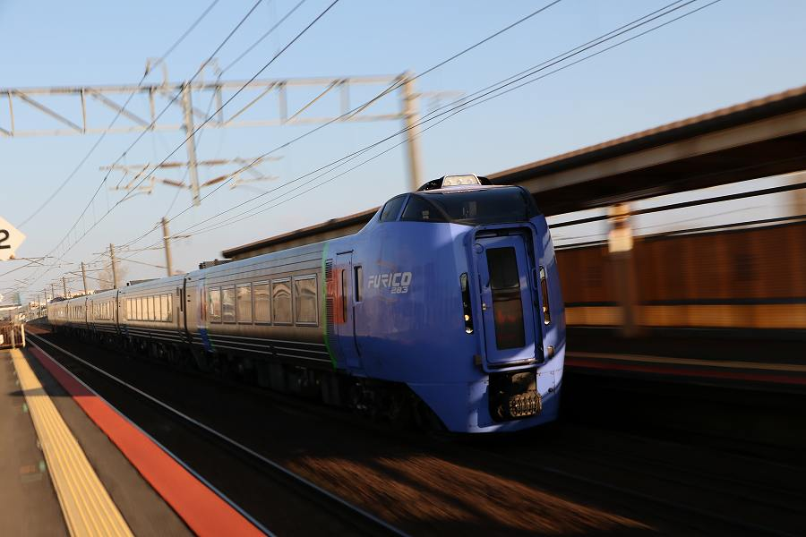4割投げやり6割遊び-朝から影で悩む朝の札幌駅