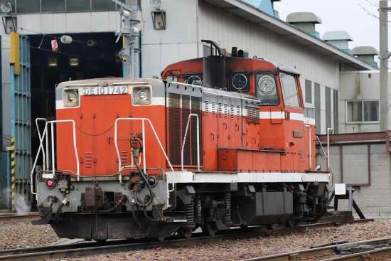 札幌運転所 DE10 1742