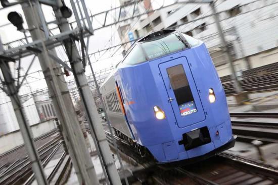 スーパー北斗4号 札幌 入線 10両 キハ261