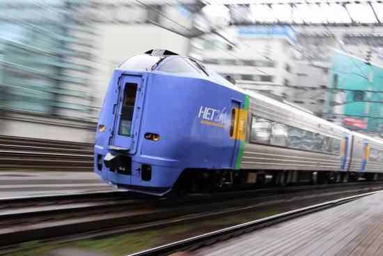 ズーム流し 流し撮り スーパー宗谷 列車 キハ261系100番代