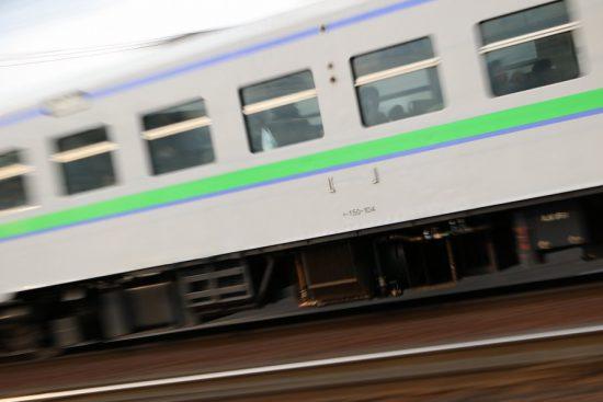 キハ150 104 流し撮り 汽車 列車