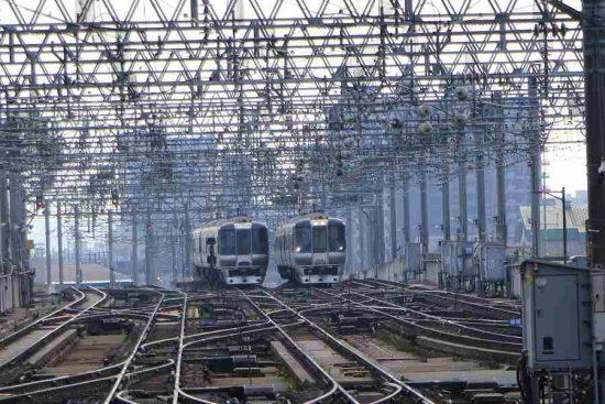 札幌駅 785系 並び