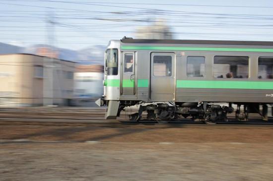 バリアングル 流し撮り 列車 電車