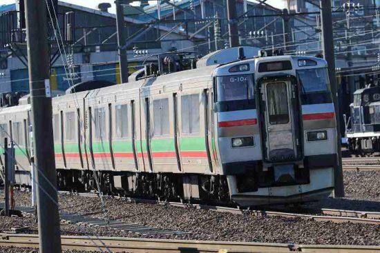 札幌運転所 731系G-104 733系 B-101