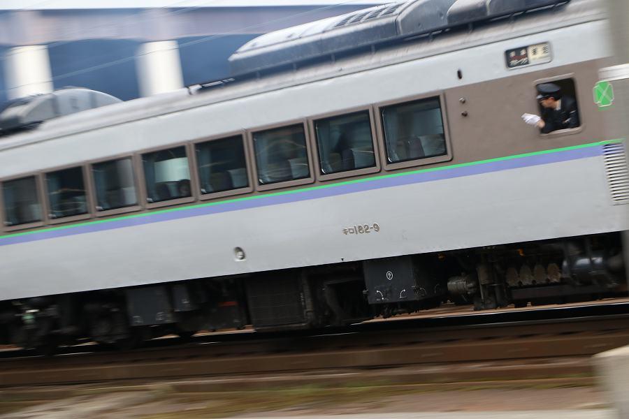 キハ183が3両入ったオホーツク1号-臨時2本といつもの列車