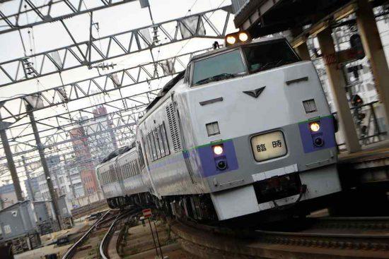 キハ183系 団体臨時 札幌駅