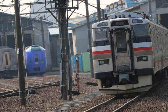 札幌運転所 731系 G-104