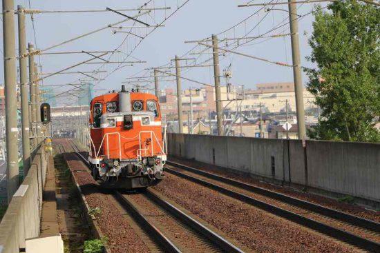 DE15 1545 赤単機 稲積公園駅