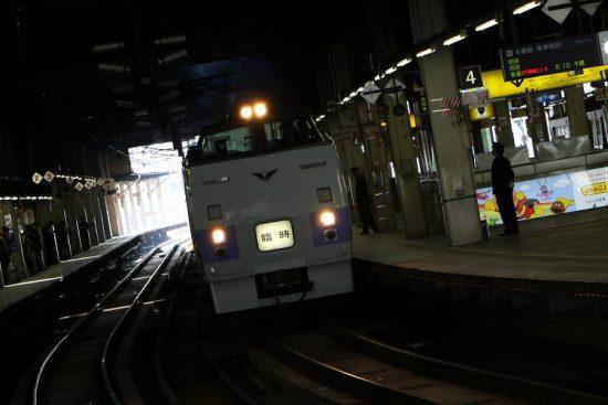 キハ183系 団体臨時列車 集約列車 キハ183-215