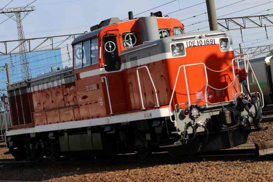 札幌運転所 DE10 1691