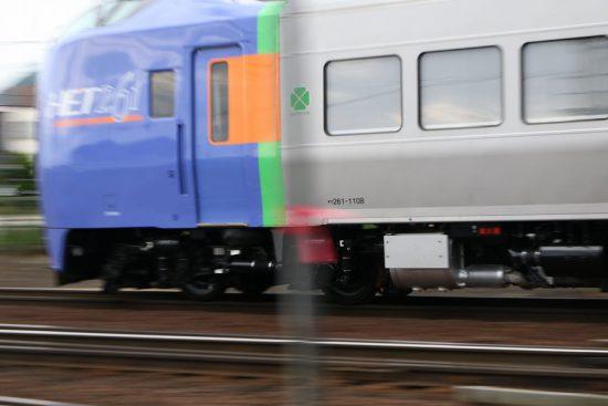 キロ261-1108 試運転 キハ261系1000番代 ST-1108