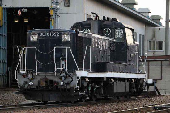 札幌運転所 黒 機関車 DE101692
