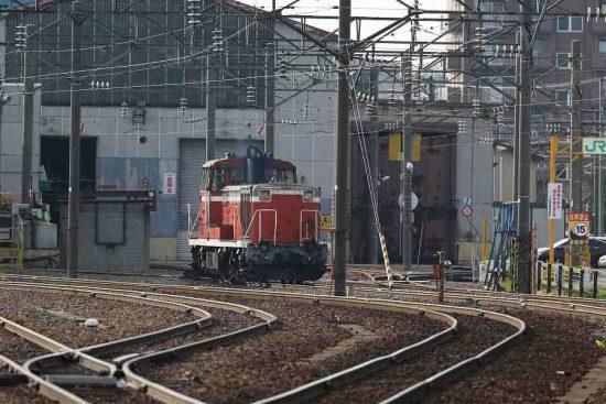 札幌運転所 機関車 DE101742