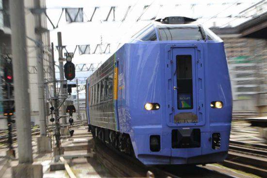 キハ261系100番代 スーパー宗谷 回送入線 札幌駅 7番線