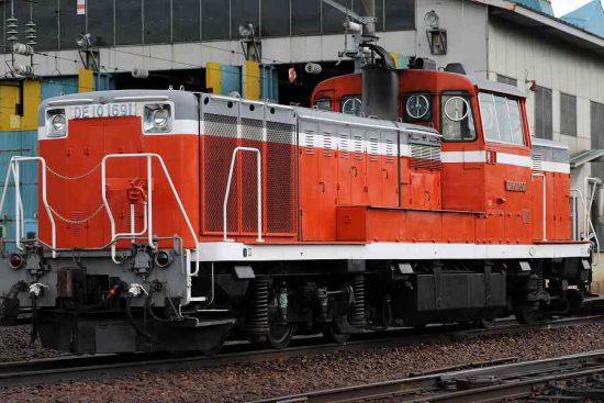 DE10 1691 札幌運転所