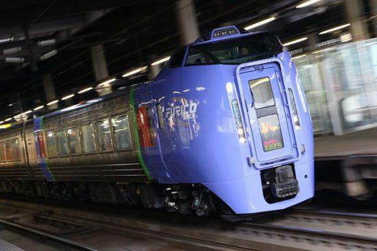 特急スーパーおおぞら1号 札幌駅 4001D