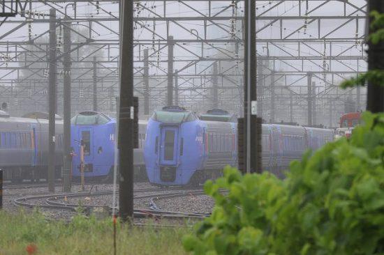 札幌運転所 キハ261系 ST-1108/1208