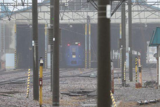 札幌運転所 左車庫