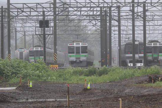 札幌運転所 留置線