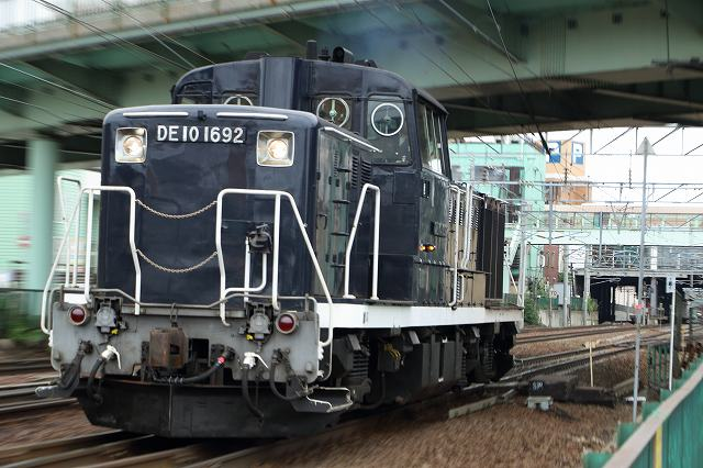 札幌運転所と789系HE-206の様子-単機で向ったDE101692