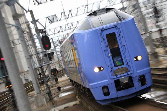 ズーム流し 札幌駅 スーパー宗谷 キハ261系100番代
