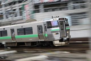 週間電写-2016年6月20日~6月24日の朝の札幌駅の様子とキハ183406